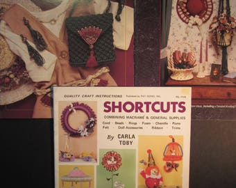 3 macrame books,Simply Macrame, Pat Depke Books,Detailed knotting guide,Macrame for the Nineties,14 projects,Shortcuts,Carla Toby,for kids