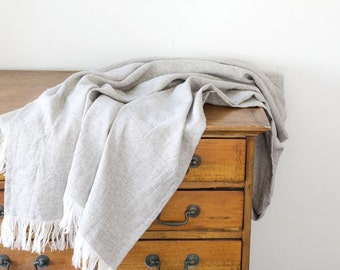 Hemp & Yak Twill Blanket - Throw Blanket
