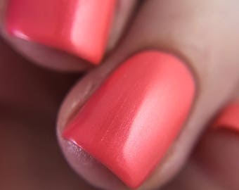 Lobster Roll ~ Pink Shimmer Polish