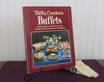 Betty Crocker's Buffets, Vintage Cookbook, 1984