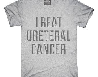 I Beat Ureteral Cancer T-Shirt, Hoodie, Tank Top, Gifts