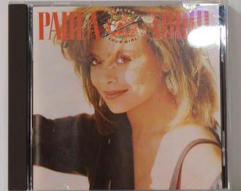 Vintage Paula Abdul Forever Your Girl CD