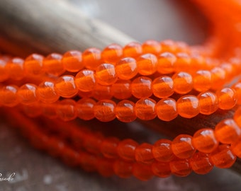 Fiery Bliss, Czech Beads, Beads, N2109