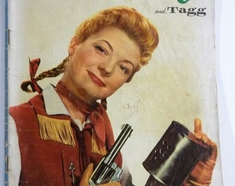 Annie Oakley and Tagg Issue 4; Dell Golden Age Western Comic