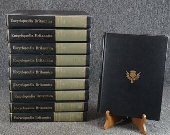 Encyclopaedia Britannica Micropaedia Full Set Vols. I-X C. 1978