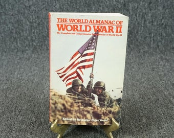 The World Almanac Of World War II Edited By Brigadier Peter Young C. 1981