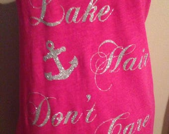 Lake Hair Dont Care Iron On / Lake Hair Dont Care / iron on Decal / iron on transfer