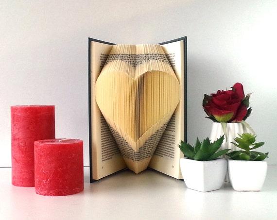 Book Art Wedding Gift : Book ArtWedding giftPaper AnniversaryWedding favorGift ...