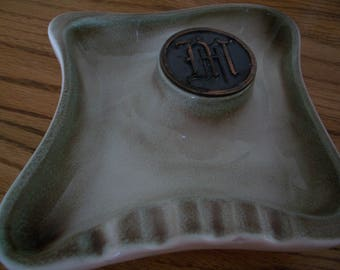 "Ashtray, Monogram ""M"", The Hyde Park No. 1930"