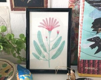 Flower Two Original Illustration