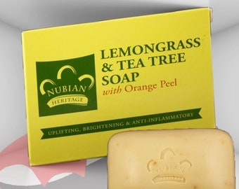 Beauty Soap - Lemongrass & Tea Tree Soap, Natural Soap, FREE SHIPPING in U.S. only