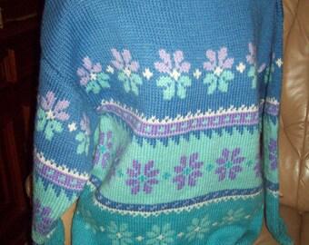 Ladies handknitted jumper