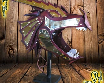 Larp Helmet Dragon King