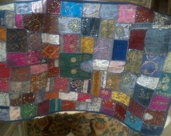 Gorgeus Hand Made Beaded Quilt