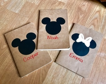 Disney Autograph Books, Disney Trip, Disney Vacation, Personalized Autograph Books