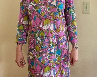 Vintage Sears 60s 70s Dress