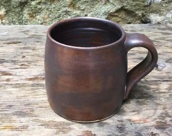 Hand thrown stoneware mug #10