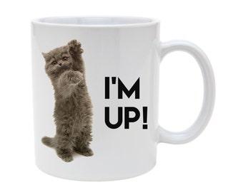 Kitten im up! mug