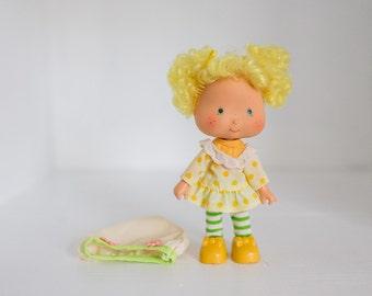 Early 1980s Strawberry Shortcake Lemon Meringue Doll, American Greetings 1979