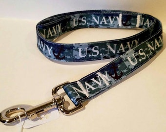 U.S. Navy dog collars, leash OR keychain
