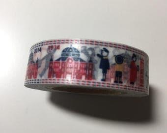 Used masking tape