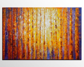 Large Art, Large Wall Art, Canvas Painting, Tree Painting, Original Painting, Abstract Painting, Abstract Art, Canvas Art, Oil Painting