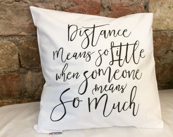 Distance Means So Etsy