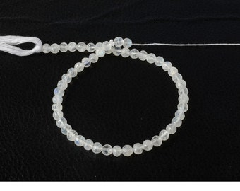 Rainbowmoonstone Round Faceted 5mm AAA top quality