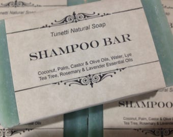 Natural Organic Shampoo Bar