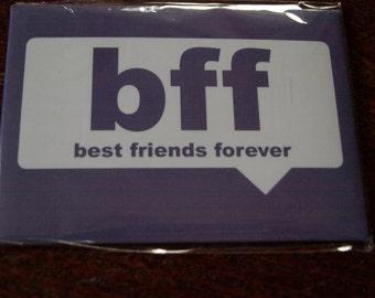 Best Friends Forever Fridge Magnet
