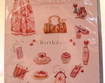 To a Special Sister on your BIrthday  Birthday Card
