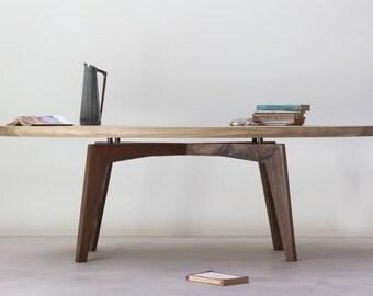 KONK! - Oak/Walnut Mix Coffee Table [Bespoke sizes available!] Mid-Century/Modern