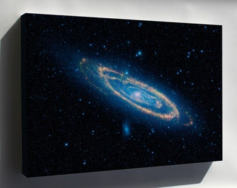 Canvas 24x36; Andromeda Galaxy As Seen By Nasa'S Wide-Field Infrared Survey Explorer - Copy