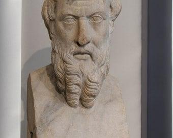 Canvas 24x36; Herodotos Met 91.8