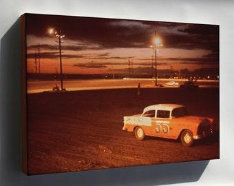 Canvas 24x36; Albuquerque Speedway Park, One Of Three Stock Car Race Tracks In Albuquerque Nara 545318