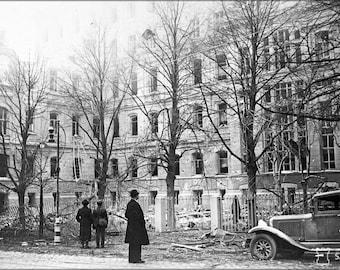 16x24 Poster; Helsinki Bombardment 1939 Sa Kuvat Fu2011