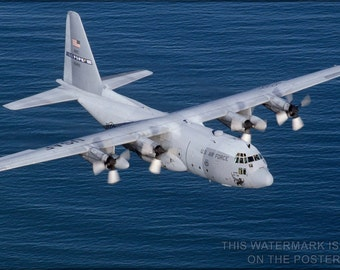 16x24 Poster; C-130 Hercules