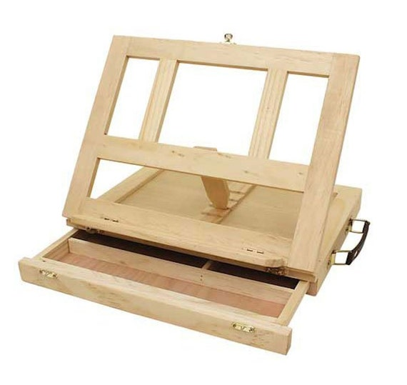 Art Alternatives Marquis Artists Adjustable Desk Box Easel