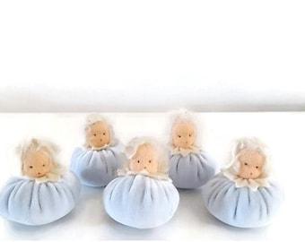Winter dolls - Waldorf - Nature Table - Flower children - Antroposofisch- Winter