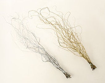 Curly Willow Branches, Fresh Branches, Gold Twigs, Curly Twigs, Silver Twigs, Holiday Decor, Home Decor, Dramatic Twigs, Tall Twigs, Willow