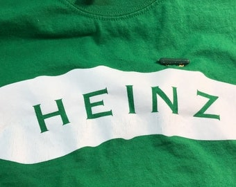 Heinz Pickle Shirt And Pickle Pin Vintage Adult Size Medium