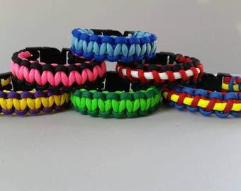 Add a Matching Paracord Bracelet