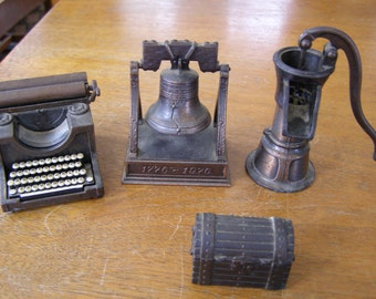 Lot of 4 Collectible Vintage Pencil Sharpener Playme made in Spain