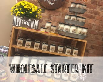 Wholesale Candle Starter Kit, Soy Candles