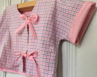 kimono/cropped jacket/couture/ties