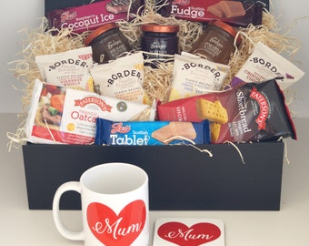 Mothers Day Hamper - With Matching Mum Love Heart Mug and Coaster