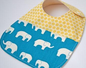 Organic baby bib, bay bib boy, elephant bib, baby bibs, drool bib, baby bandana bibs, organic baby bib, organic drool bib, modern bib