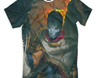 T-shirt fullprint League of Legends Jhin