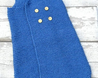 Baby Sleep sack, Baby Sleeping bag, knitted baby boy, baby sleeping sack, baby sleep pod, baby sleeper, baby sleep suit, baby shower gift