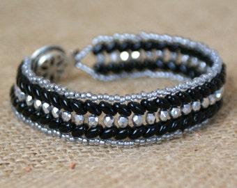Blingy Chevron Bracelet